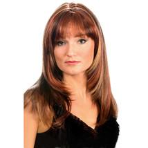 Fashion women medium straight E FANLAN professional wig