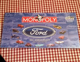 2003 Monopoly Ford 100th Anniversary Collector Edition Us Aopoly Brand NEW/SEALED - $93.10
