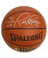 Rick Barry signed Spalding NBA Indoor/Outdoor TB Basketball '75 Finals M... - $98.95