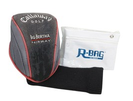 CALLAWAY GOLF BIG BERTHA FAIRWAY #3 - USED CLUB COVER & R-BAG POUCH - $14.88