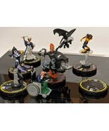 Reject Pieces* Heroclix Invisible girl, Xavier, cosmic boy, Domino, Fury... - $6.92