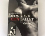New York City Ballet - The Complete Workout 1  2 (DVD, 2006, 2-Disc Set)