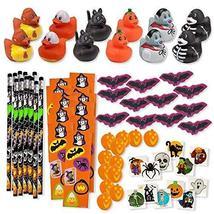156 Piece Mega Halloween Toy Novelty Assortment; 12 Halloween Ducks, 12 ... - $36.95