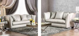 Alessandra Collection SM2288-SL 2-Piece Living Room Set with Stationary ... - $3,121.56