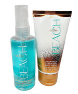 Bath & Body Works AT THE BEACH Travel Size Set Body Cream Fragrance Mist... - $19.79