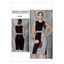 Vogue Patterns V1468 Misses' Dress, D5 (12-14-16-18-20) - $8.99