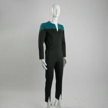 Star Trek Deep Space Nine Adult Male Blue Uniform Jumpsuit Cosplay Costume - $44.63