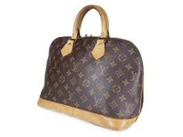 LOUIS VUITTON Alma Monogram Canvas Leather Hand Bag LH2886 - $329.00