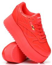 Nib*Reebok*Women's X Gigi Hadid Classic Leather Triple Platform**Red*Size 6-10 - $185.00