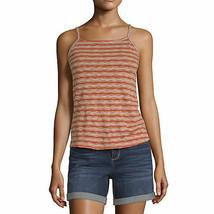 a.n.a. Women's Square Neck Sleeveless Tank Top Shirt X-LARGE Burnt Ochre... - $19.79