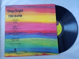 Stage Fright The Band Vinyl Record Vintage 1980 Capitol Stereo SW-425 - $31.24