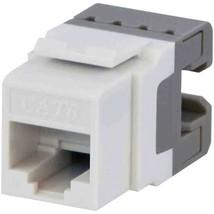DataComm Electronics 20-3426-WH-10 CAT-6 Jacks, 10 Pack (White) - $46.73