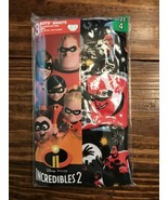 Boys Disney Incredibles 1 Pack of 3 Each Size 4 100% Cotton - $5.94