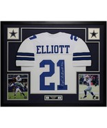 Ezekiel Elliott Autographed Jersey Framed Authentic $695 - $695.00