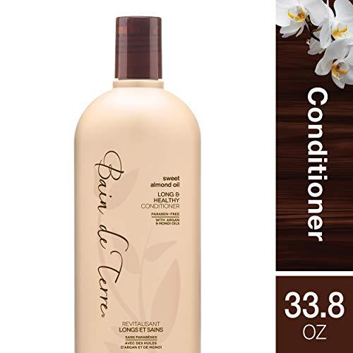 Sweet Almond Oil Long & Healthy Conditioner by Bain de Terre for Unisex - 33.8 o