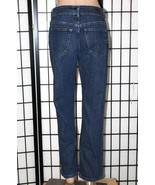 "LEE RIDERS Women's Size 10P Petite Straight Leg Stretch Denim Jeans 28"" ... - $25.15"