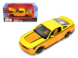 2011 Ford Mustang GT Orange Custom 1/24 Diecast Model Car by Maisto - $52.99