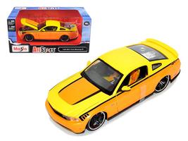 2011 Ford Mustang GT Orange Custom 1/24 Diecast Model Car by Maisto - $52.99