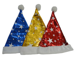 12 Pcs Christmas Hat for Children and Adults Non-woven Pleuche New Hats - $24.00