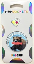 PopSockets Phone & Tablet Grip Fishing Trip Bear PopGrip With Swappable Top NEW