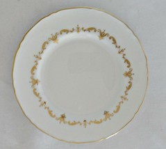 Royal Worcester Gold Chantilly Fine Bone China Bread Plate - $13.99