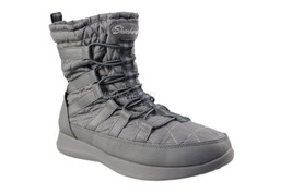 Womens Skechers Outdoor Lifestyle Boulder East Stone Charcoal Boots - £45.40 GBP