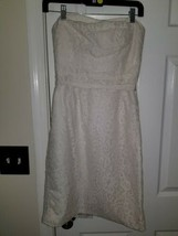 J.Crew Collection Laura Lace Dress 2 Ivory Bridal Short Wedding Gown 67165 - $39.59