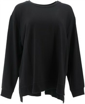 zuda Z-Knit French Terry Pullover Sweatshirt Black XL NEW A371835 - $33.64