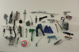 Action Figure Accessories Weapons Parts Lot  Vintage 1990's  Marvel? G I... - $34.60