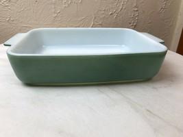 Pyrex 1953 HEINZ Promotional Green 1-1/2 qt. Open Casserole Dish 507-B (1) - $14.92