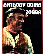 Anthony Quinn is ZORBA (Play Book) - $5.95