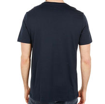 Men's Psycho Bunny Shirt Seymour Graphic Tee Shattered Neon Logo Navy T-shirt image 3