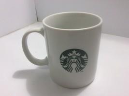 Starbucks 2015 Green Mermaid Logo 12 fl oz White Coffee Mug - $9.74
