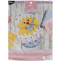 "Bucilla Felt Wall Hanging Applique Kit 15""X22""-Easter Chick - $44.52"