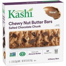 Kashi Chewy Nut Butter Bars Salted Chocolate Chunk - $10.74