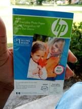 NEW SEALED HP Everyday Photo Paper Inkjet Semi Gloss (Q2509A) 100 Sheets  - $14.95