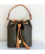 Dooney & Bourke Tasha Drawstring Tote Bag with Eva Braid ~ Handbag Purse... - $165.95