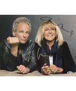Lindsey Buckingham Christine Mcvie Fleetwood Mac Signed 11x14 Photo BAS - $255.41