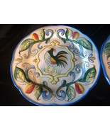 "Fitz & Floyd Ricamo 8.3/8"" Salad Plates Set of 7 - $22.50"