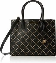 Michael Kors Mercer Stud & Grommet Large Convertible Tote Bag Black 30F7... - $329.00