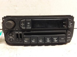 02 03 04 05 06 Dodge Chrysler Jeep AM FM CD radio receiver OEM P56038589AN - $29.44