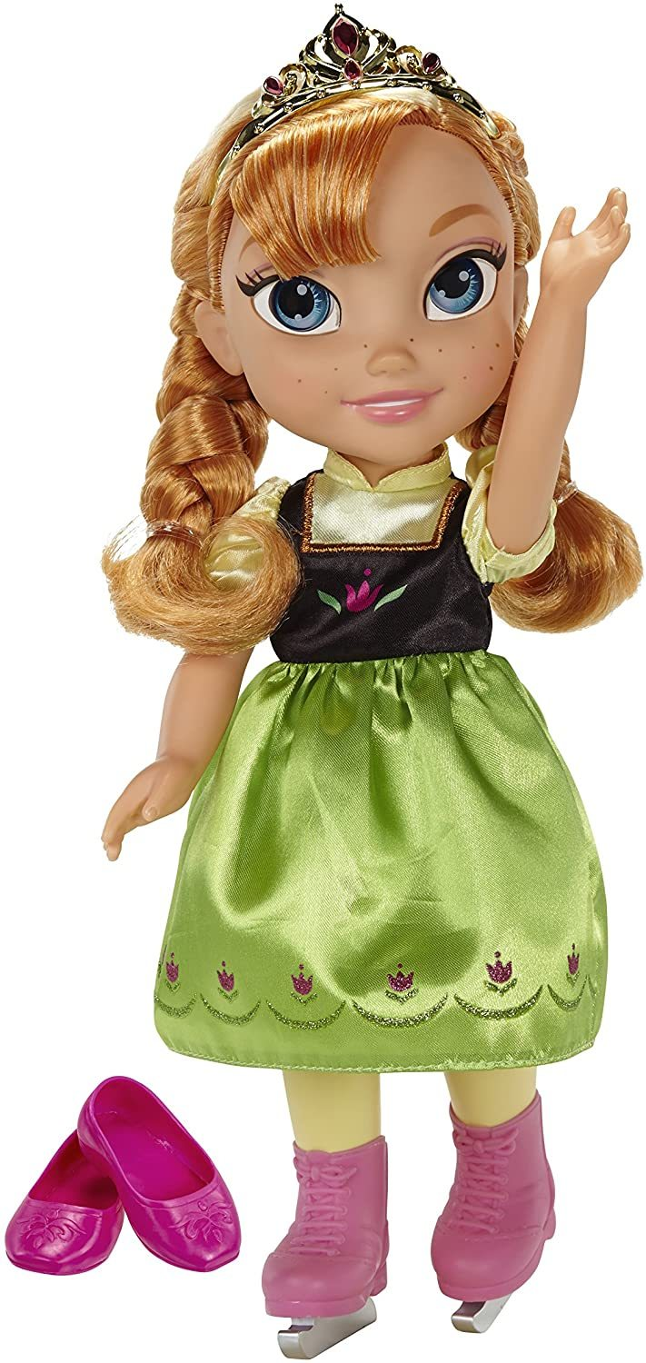 Image 0 of Disney Frozen Anna with Ice Skating Fashions and Skates Role Play Set