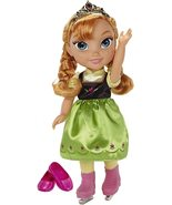 Disney Frozen Anna with Ice Skating Fashions and Skates Role Play Set - £52.37 GBP