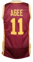 Hoop Dreams Movie Arthur Agee Basketball Jersey Sewn Maroon Any Size image 5