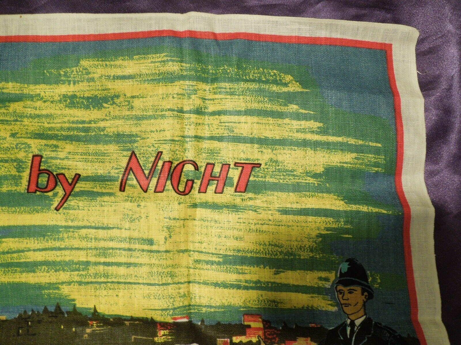Vintage London by Night by Blackstaff Pure Irish Linen Towel Art image 8