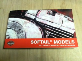 2011 Harley Davidson NEW Softail Models Owner's Manual 99469-11A - $29.86