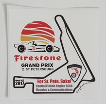 2017 Firestone Indycar Grand Prix of St. Petersburg Sticker  - $2.49
