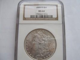 1904-O , Morgan Silver Dollar , NGC , MS 64 - $90.00