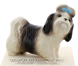 Hagen-Renaker Miniature Ceramic Dog Figurine Shih Tzu image 1