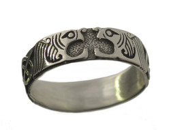 Sterling Silver .925 Celtic Tiger Lion Cat guardian ring Infinity Knot P... - $26.17